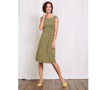 Marina Jerseykleid Gelb Damen