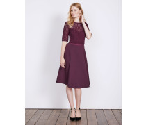 Lisa Kleid aus Ponte-Roma-Jersey Purple Damen