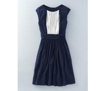 Selina Kleid Blau Damen Boden