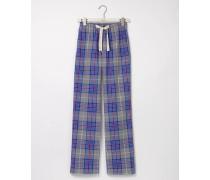 Pyjamahose aus Baumwollpopeline Grau Herren