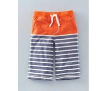 Baggyhose aus Jersey Orange Jungen