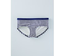 Bikinishorts zum Kombinieren Gestreift Damen Boden