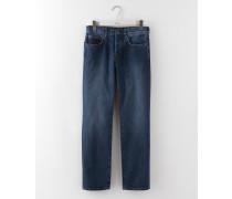 Jeans mit geradem Bein Mittelblaues Denim Herren