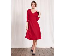 Bryony Kleid aus Ponte-Roma-Jersey Dunkelpink Damen