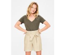 St. Ives Paperbag-Shorts Ivory Damen