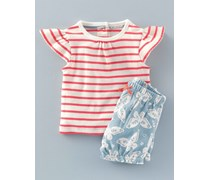 Sommerliches Jersey-Spielset, Rot, Mini Boden