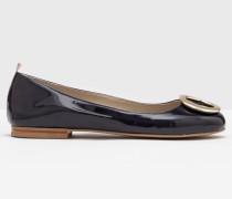 Joanna Flache Schuhe Navy Damen