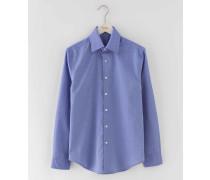 Elegantes Hemd Blau Herren Boden