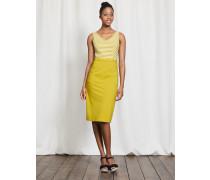 Belle Kleid aus Ponte-Roma-Jersey Gelb Damen
