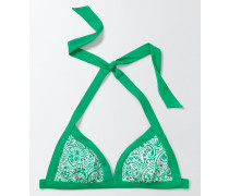 Ischia Neckholder-Bikinioberteil Green Damen