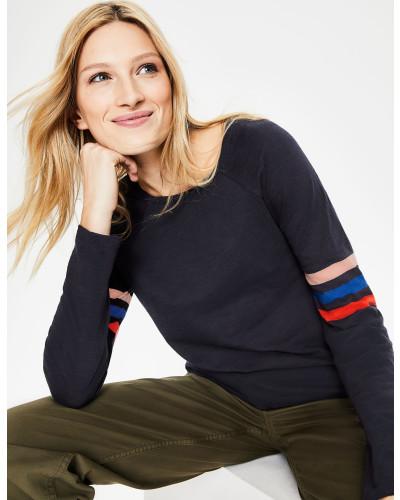 Allie Jerseyshirt Navy Damen