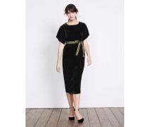 Robyn Samtkleid Black Damen