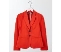 Elizabeth Ponte-Blazer Rot Damen