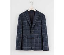 Jacke aus britischem Tweed Blau Herren