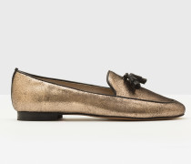 Ines Loafer Gold Damen