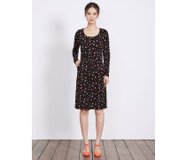 Mabel Jerseykleid Black Damen