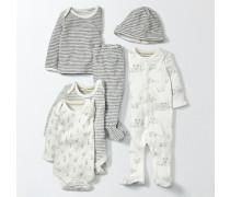 Neues Geschenkset für Babys Elfenbeinfarben