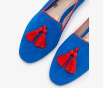 Rowan Slipper Blue Damen