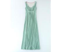 Jersey-Maxikleid Grün Damen