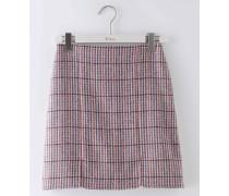 Minirock aus britischem Tweed Bunt Damen