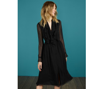 Winifred Midikleid Black Damen