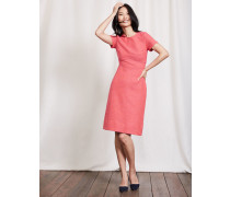 Sylvie Kleid mit Ziernähten Pink Damen