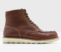 Chukka-Stiefel aus Leder Brown Herren