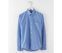 Slim Fit Oxford Shirt Gepunktet Herren