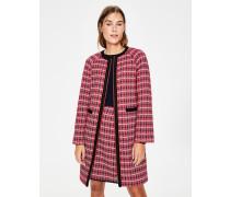 Eadie Strukturierter Mantel Red Damen
