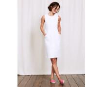Rosa Kleid Weiß Damen
