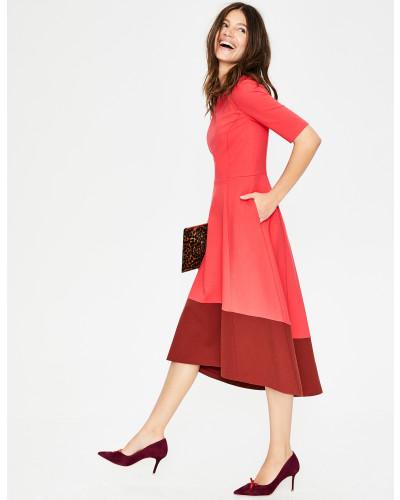 Wren Ponte-Kleid Red Damen