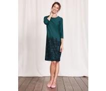 Lily Kleid aus Ponte-Roma-Jersey Dunkelgrün Damen
