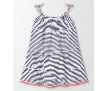 Sommerkleid aus Jersey Dunkelblau Mädchen