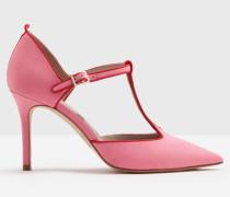 Angelica Absatzschuhe mit T-Steg Pink Damen