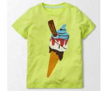 T-Shirt mit Lieblingsgeschmack Gelb Jungen