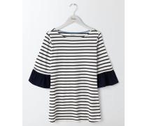 Rae T-Shirt mit Rüschenärmeln Ivory Damen