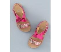 Glitzernde Sandalen Pink Mädchen