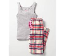 Pyjamaset mit Unterhemd Ivory Mädchen Boden