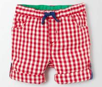 Hose mit Umschlag Rot Baby Boden