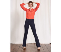 Schmale Marylebone Bootcut-Jeans Indigoblau Damen