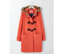 Dufflecoat aus Wolle Red Damen