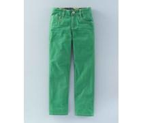 Farbige schmale Jeans Gr�n Jungen Boden