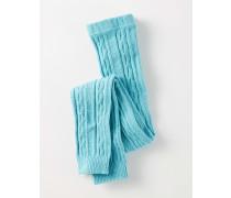 Leggings mit Zopfstrickmuster Blau Baby Boden