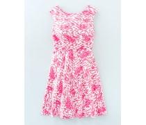Mara Kleid mit schwingender Passform Pink Damen