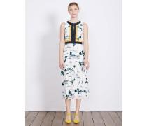 Leonie Kleid Elfenbeinfarben Damen