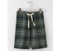 Shorts aus gebürsteter Baumwolle zum Relaxen Khaki Herren