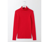 Tilly Rollkragenpullover Red Damen