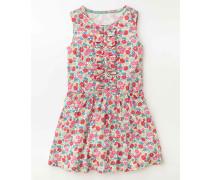Rüschenkleid aus Jersey Pink Mädchen