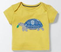 T-Shirt mit großer Applikation MUS Baby