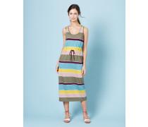 Easy Drawstring Dress Bunt Damen